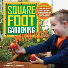 Square Foot Gardening with Kids, by Mel Bartholomew. Square foot gardening (SFG) is based on a grid of 1-foot squares, offering numerous opportunities for lessons in math, science, and other subjects. Includes suggestions for activities.