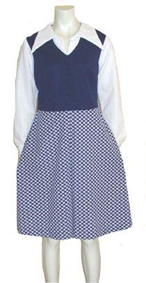 Mod 1960s  Vintage Twiggy Dress