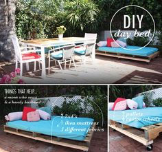 DIY: pallet day bed (via Beloved Indeed)