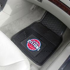 Heavy Duty Vinyl Detroit Pistons Floor Mats