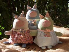 prairie.mouse (marionetas de fieltro). Discusión sobre LiveInternet - Servicio de Rusia Diarios Online