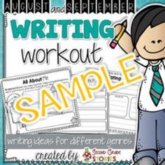 Back to School Writing - Freebie