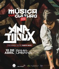 Ana Tijoux en Puerto Rico #sondeaquipr #anatojoux #bahiaurbana #viejosanjuan #sanjuan #musicaconculturafest