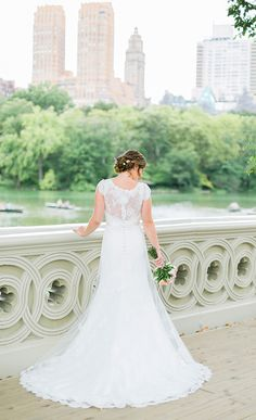 A intimate wedding in Central Park, New York.