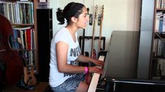 Sharon Renold, performing 'Two Feet' by Oli Rockberger. Self-transcribed for piano and voice by Sharon. From the Album 'Old Habits die H. 16 Year Old, The Voice, Piano, Music Videos, Album, Cover, Youtube, Pianos, Youtubers