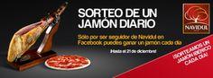¡SORTEAMOS UN JAMÓN IBÉRICO DIARIO!