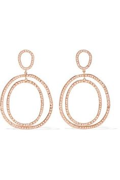 Bell-back fastening for pierced ears NET-A-PORTER.COM is a certified member of the Responsible Jewellery Council Imported