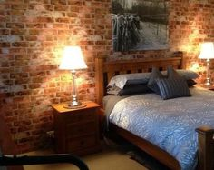 Distressed Brick Wallpaper – Vintage Exposed Industrial Chic Décor, Rustic Primitive Country, Weathered Old Wall - Sample Brick Wallpaper Vintage, Rustic Wallpaper, Of Wallpaper, Modern Industrial Decor, Vintage Industrial, Man Cave Home Bar, Shabby Cottage, Exposed Brick, Home Decor Inspiration