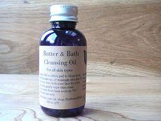 Cleansing Oil Natural Facial Oil Cleanser & Make by ButterandBath