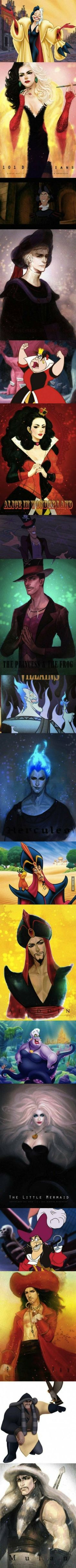 What Disney Villains Would Look Like if They Were Hot