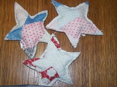 Stars from old quilts