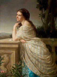 Miss Helen Faucit (1814–1898), Actress by Rudolf Lehmann