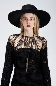 KHAOS SWEATER DRESS www.sistersoftheblackmoon.com