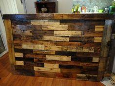 Kijiji: Reclaimed & Recycled Wood Headboards