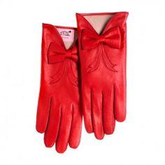 Bardot gloves by Minna Parikka Red Gloves, Driving Gloves, Little Bow, Marimekko, Pretty Outfits, Bardot, Bows, My Love, My Style