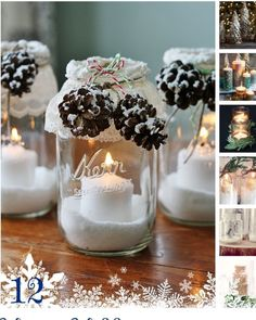 this collection of diy wedding centerpieces for your winter wedding will inspire you to make your winter themed wedding a diy wedding to dream about