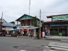 Bocas - the town