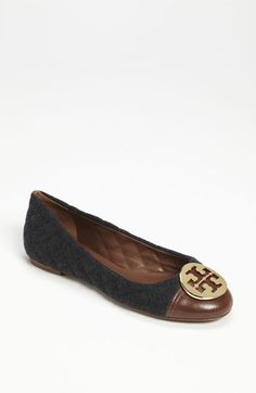 winter/work Tory Burch 'Parker' Flat available at #Nordstrom