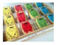 Resultado de imagen de galletas monstruo de colores
