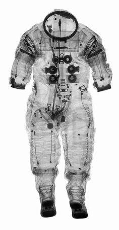 X-Rays of Space Gear by the Smithsonian Museum