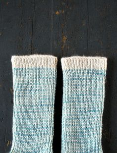 Whit's Knits: Striped Crew Socks - Purl Soho - Knitting Crochet Sewing Embroidery Crafts Patterns and Ideas!