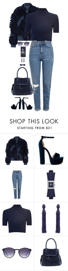 """Untitled #5615"" by miki006 ❤ liked on Polyvore featuring 3.1 Phillip Lim, Steve Madden, Topshop, Kate Spade, Glamorous, Oscar de la Renta, X-Ray, Nancy Gonzalez and Casetify"