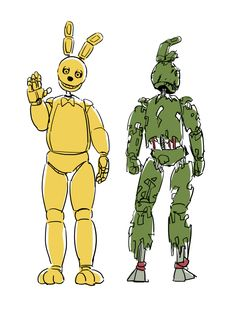 Spring bonnies, Springtrap  from Tumblr