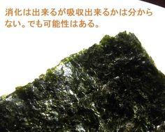 海苔を消化できるのは日本人だけだった? f:id:wacag:20141031155441j:plain