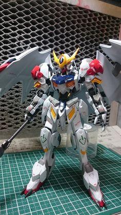 HG 1/144 Gundam Barbatos Lupus - Customized Build