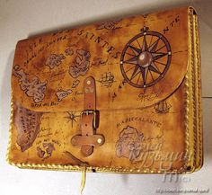 Map messenger bag - very unique and vintage inspired!