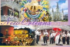 """New Orleans, Louisiana - Way down yonder in New Orleans, you'll find the roots of jazz and a blossoming culture that is unlike anything else on Earth. Here, the laid-back atmosphere of the riverfront South has mixed with French sophistication and African-American energy to create something greater than the sum of its parts. Though hit hard by Katrina, """"Nawlins"""" remains the largest city in Louisiana and one of the top tourist destinations in the United States."""