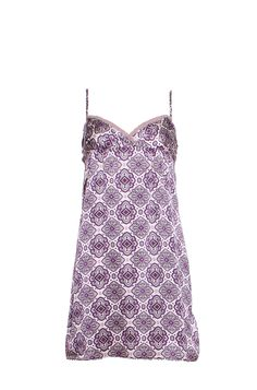 Odd Molly - Purple Paisley Print Slip Tunic Top. Paisley print is another trend for SS/13 and slip tops are perfect for layering!