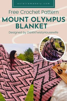 Crochet Blanket Patterns, Diy Crochet Rug, Free Crochet, Manta Crochet, Afghan Crochet Patterns, Crochet Home, Crochet Projects, Diy Projects To Try, Different Crochet Stitches