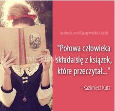 To prawda. Każdy z nas w pewnym stopniu upodabnia się do jednego bohatera z każdej książki. Jesteś ciekaw? Sam to sprawdź :)
