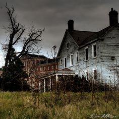 Spirits of the Abandoned Fort Howard Veterans Hospital Gallery