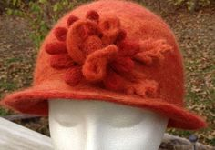 Kathy Shallow of Missouri shared her beautiful needle felted hats with us. She enjoys using Alpaca rovings from her sister's flock, along with Living Felt felting tools, needle felting foam …
