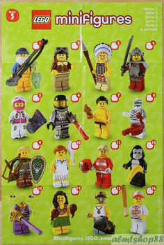 FACTORY SEALED LEGO SERIES 1 2 3 4 5 6 7 8 Costume Party Birthday Minifigure Sea