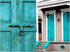 puertas azules casa - Buscar con Google