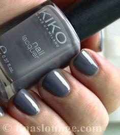 Kiko – 380 Medium Grey - Nail Polish