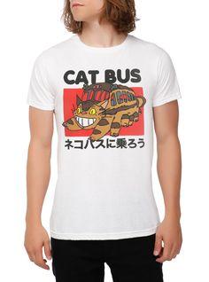 Studio Ghibli My Neighbor Totoro Catbus T-Shirt