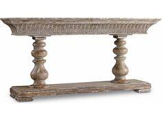 Hooker Furniture Melange Medium Wood 72''L x 16''W Rectangular Mulberry Console Table
