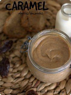 Caramel de dattes & amandes {recette végane sans gluten}