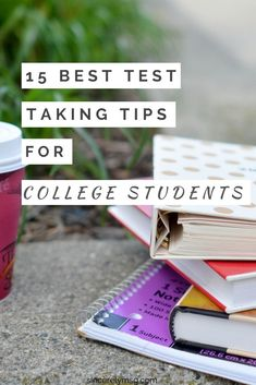15 of the best test taking tips for college students ★·.·´¯`·.·★ follow @motivation2study for daily inspiration