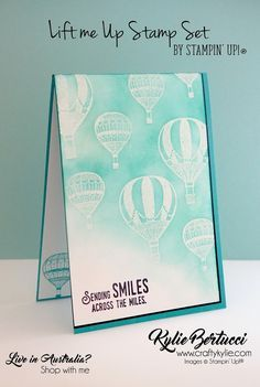 Kylie Bertucci - Stamp to Share International Design Team Blog Hop - See some incredible projects using the Lift Me up Bundle.