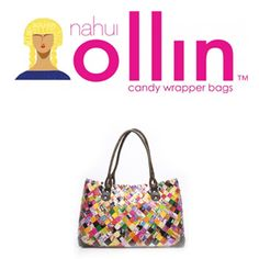 Handgemaakte en hippe tassen bij Nahui Ollin Candy Wrappers, Fashion Online, Fashion Beauty, Fashion Accessories, Online Shopping, Handmade, Hands, Fashion Styles, Candy Bar Wrappers