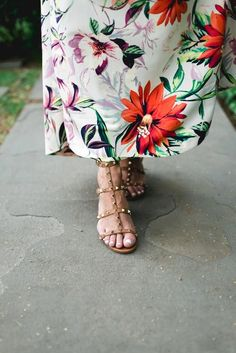 Valentino Garavani Rockstud Block-Heel Sandals