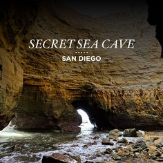 One of the few secret sea caves in San Diego. Click through to get complete directions to this secret sea cave at Cabrillo National Monument // Local Adventurer sandiego california visitcalifornia usa ustravel localadventurer 473370610834908260 Places To Travel, Places To See, Travel Stuff, Home Beach, Las Vegas World, Sea Cave, San Diego Travel, San Diego Beach, Lokal
