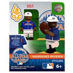 New York Yankees Mariano Rivera 2013 All-Star Game Collectible Mini Figure - MLB.com Shop