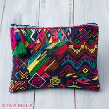 【楽天市場】STAR MELA〈スターメラ〉Jasmin Clutch エスニック刺繍クラッチバッグ(セレクトショップ/インポート/ロンドン/送料無料)【RCP】:shop faila