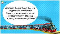 Months of the Year Rhymes for Kids - Ira Parenting List Of Months, Months In A Year, Rhymes Lyrics, Rhymes For Kids, Singing, Parenting, Songs, Learning, Children